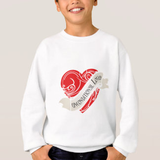 Sweatshirt Amour d'Unconditonal