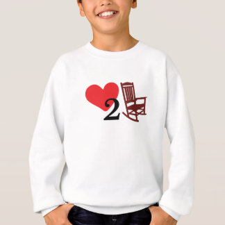 Sweatshirt Amour pour basculer la chemise drôle