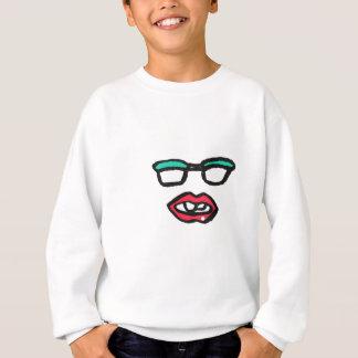 Sweatshirt Amour sexy de geek