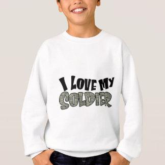 Sweatshirt Amour sinueux d'I mon soldat