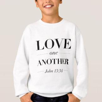 Sweatshirt Amour un un autre