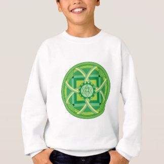 Sweatshirt Anahata chakra Mandala