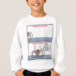Sweatshirt Araignée de reclus de Brown