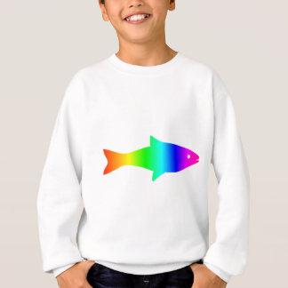 Sweatshirt Arc-en-ciel Fish2