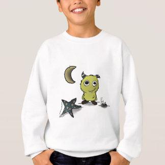 Sweatshirt Art de monstre de Biscuit-Sécurité