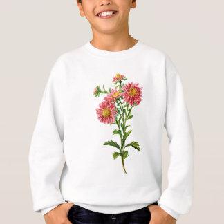Sweatshirt Asters chinois tirés de la nature