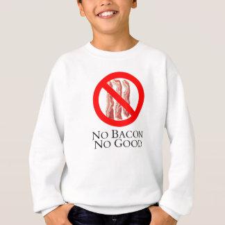 Sweatshirt Aucun lard pas bon