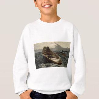 Sweatshirt Avertissement de brouillard de Winslow Homer