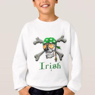 Sweatshirt Aviron irlandais et os croisés