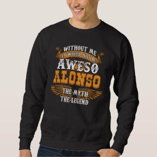 Sweatshirt Aweso ALONSO une véritable légende vivante
