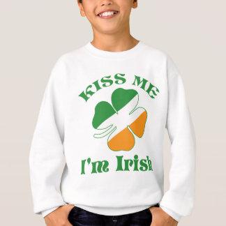 Sweatshirt Baiser je suis irlandais