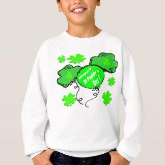 Sweatshirt Ballons du jour de St Patrick