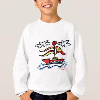 Sweatshirt Bateau