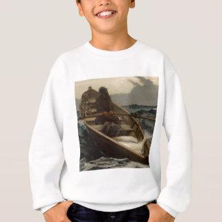 Sweatshirt Bateau à rames Winslow Homer de pêche