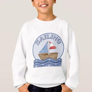 Sweatshirt Bateau à voile comique