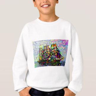 Sweatshirt Bateau de couleur