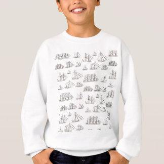Sweatshirt Bateaux vintages