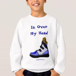 Sweatshirt Beagle de bande dessinée dans une chaussure dans
