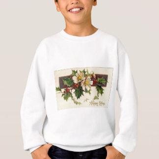 Sweatshirt Beau Noël vintage victorien de vacances