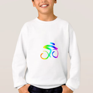 Sweatshirt Bicyclette 2 d'arc-en-ciel