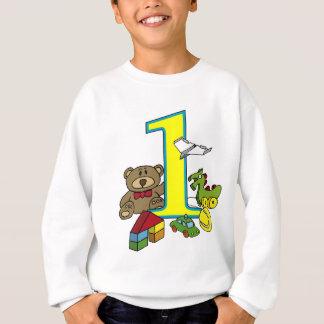 Sweatshirt birthday toys 1st children birthday fête
