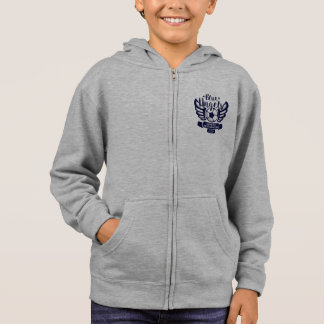 Sweatshirt bleu-clair du football des anges CHSA
