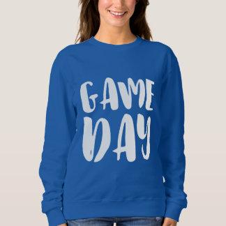 Sweatshirt bleu de jour de jeu