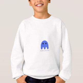 Sweatshirt bleu de monstre