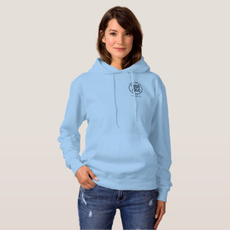 Sweatshirt bleu de sweat - shirt à capuche de