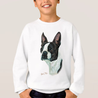 Sweatshirt Boston Terrier