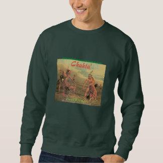 """Sweatshirt """"Boule vintage de bâton de Choctaw """""""