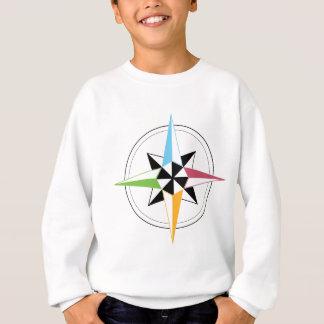 Sweatshirt Boussole colorée de bateau