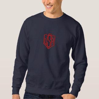 Sweatshirt Brodé LES Etats-Unis