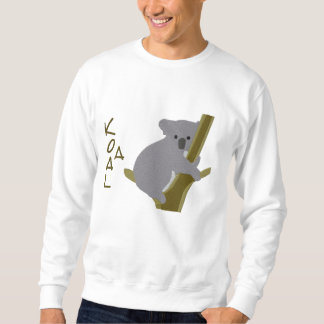 Sweatshirt Brodé Ours de koala dans un motif de broderie de ~