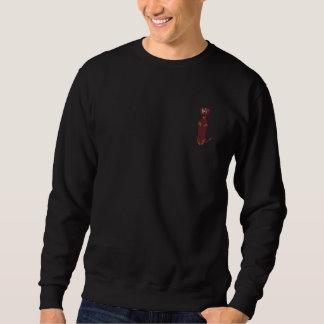 Sweatshirt brodé par copie de teckel