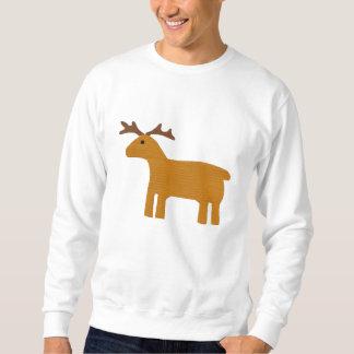 Sweatshirt brodé par renne