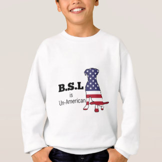 Sweatshirt BSL est peu américain, appui de Pitbull