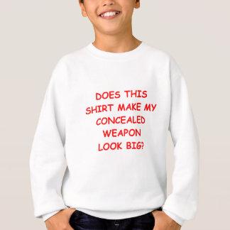 Sweatshirt caché portez