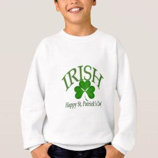 Sweatshirt Cadeaux chanceux irlandais de trèfle de jour de St