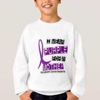 Sweatshirt Cancer pancréatique JE PORTE la mère du POURPRE 37