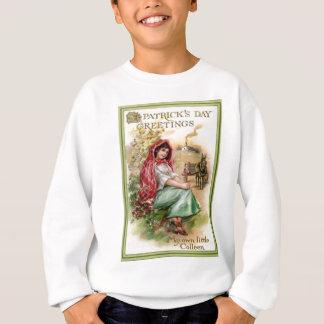 Sweatshirt Carte vintage de jour de Colleen St Patrick