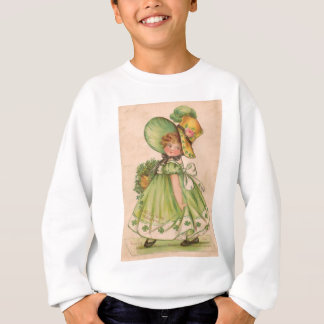Sweatshirt Carte vintage de jour de Valentine St Patrick
