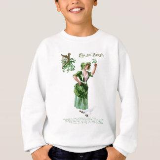 Sweatshirt Carte vintage du jour de premier St Patrick de