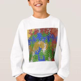 Sweatshirt CHAKRA multicolore : Énergie de roue de nature