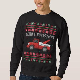 Sweatshirt Chandail laid de Noël de dépanneuse