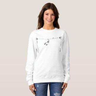 Sweatshirt Chaussettes sur une ligne téléphonique