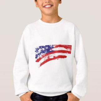 Sweatshirt Chemise de drapeau des Etats-Unis