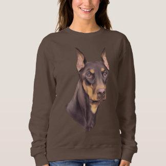 Sweatshirt Chien de Pinscher de dobermann