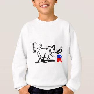 Sweatshirt Chien républicain