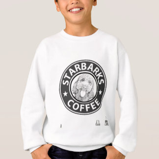 Sweatshirt chien Starbucks